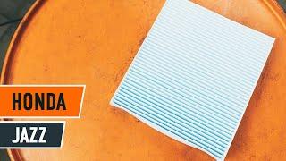 Montaje Filtro antipolen HONDA JAZZ: vídeo manual