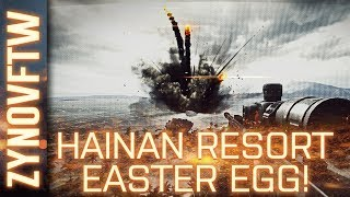 Battlefield 4: How To Activate The Hainan Resort Exploding Cargo Ship Easter Egg! (BF4 Easter Egg)