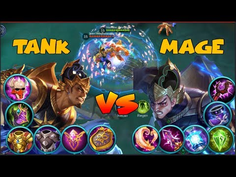 GatotKaca: Which is better Full Tank or Full Magic Damage Build