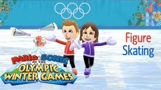 Mario & Sonic at the Olympic Games 2014 Pair Figure Skating with my Wife