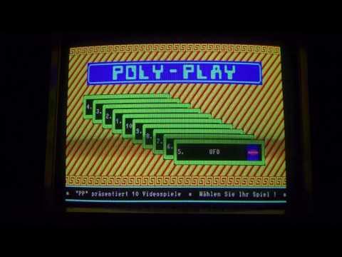 Poly-Play (VEB Polytechnik Karl-Marx-Stadt, Ende 1980er Jahre) mit seltenen Spielen