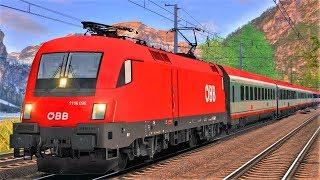 Schnellzug durch die Alpen | TRAIN SIMULATOR 2019 | Tauernbahn IC 591 Villach - Salzburg | TS 2019