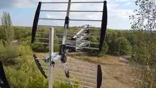 Обзор дециметровой  антенны Romsat Т2 UHF-262