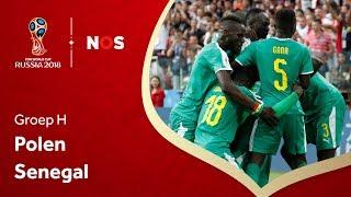 WK voetbal 2018: Samenvatting Polen - Senegal (1-2)