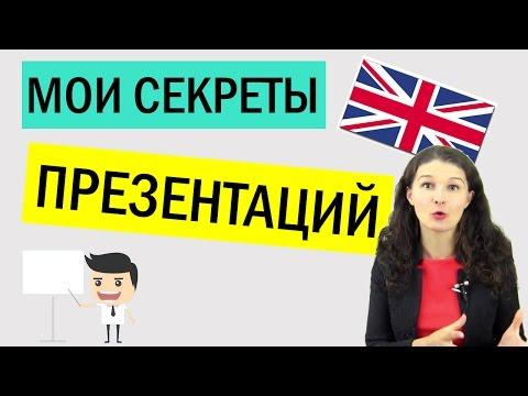 Как подписывать презентацию на английском
