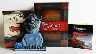 The Banner Saga Collector's Edition (IndieBox Unboxing, July 2017)
