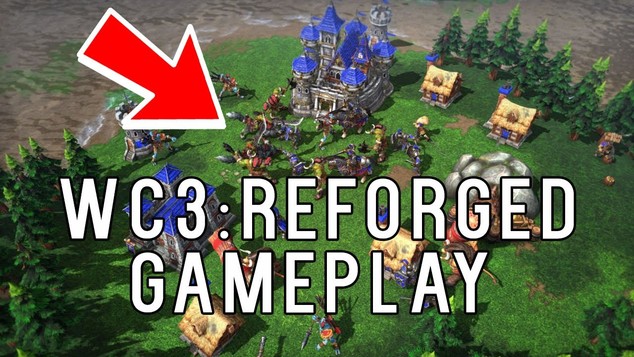 Warcraft 3: Reforged Gameplay Highlights - Blizzcon 2018