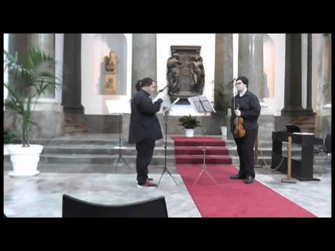 Giulio Menichelli e Samuele Cascino suonano De Beriot