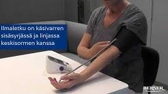 Näin käytät OMRON M3 -verenpainemittaria