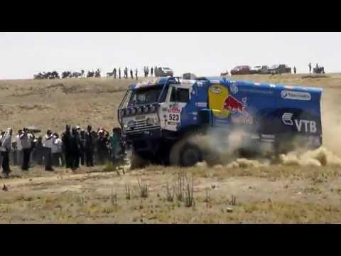 DAKAR 2012 PERU -  truck power (kamaz)  Andrey Karginov - Камаз Такна Перу