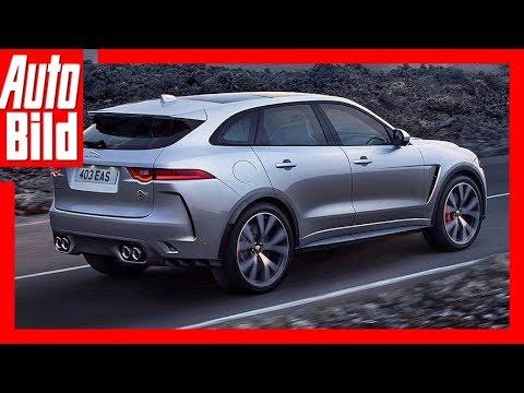Jaguar F Pace Svr 2018 Details Erklärung