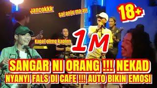 🔴 GUGUP !!! NYARIS EMOSI PURA PURA GEMBEL NYANYI DI CAFE DENGAN SUARA FALS AKHIRNYA ??? MP3
