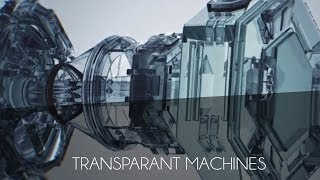Free Cinema 4D Template #1 - Transparent Machines