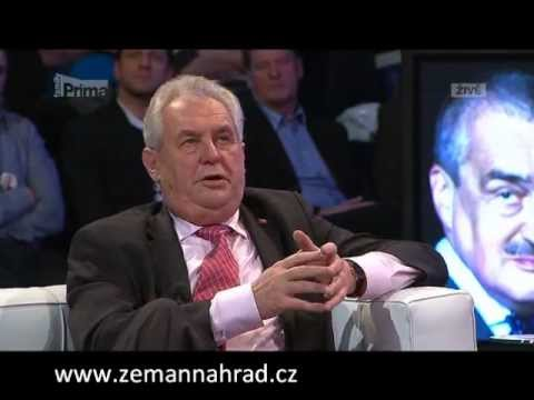 Miloš Zeman vs. Karel Schwarzenberg - Prezidentská debata 18. Ledna 2013