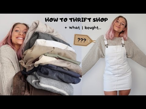 THRIFT SHOPPING W ME + WHAT I BOUGHT HAUL
