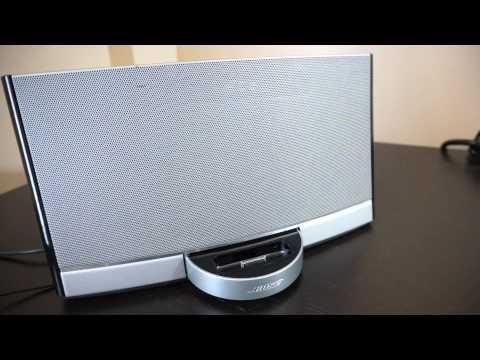 Bose SoundDock Digital Music System Demo