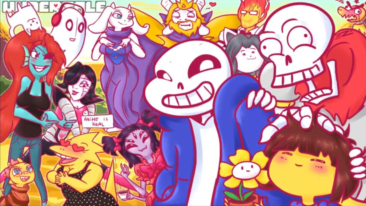 Cute Undertale Wallpaper Undertale Comicks En Espa 241 Ol Parte 2 Youtube