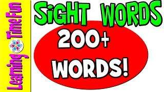 Repeat youtube video Sight Words | High Frequency Words | Kindergarten Sight Words | Popcorn Words | English Words