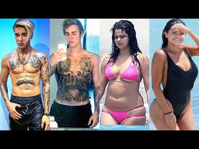Justin Bieber Vs Selena Gomez Transformation ★ 2018