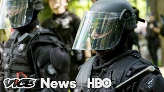 Left Wing Violence & Trading Races: VICE News Tonight Full Episode (HBO)