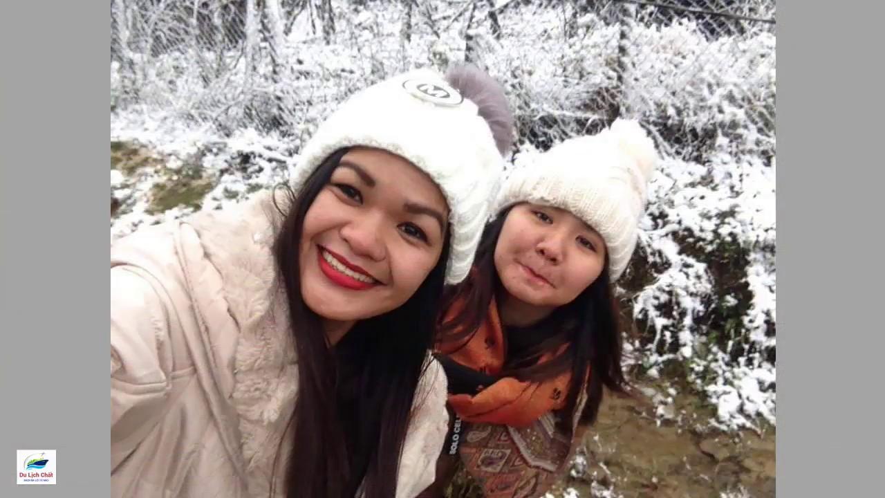 Ngắm tuyết rơi bất ngờ phủ trắng/Watch snow suddenly white I SAPA I YDLC
