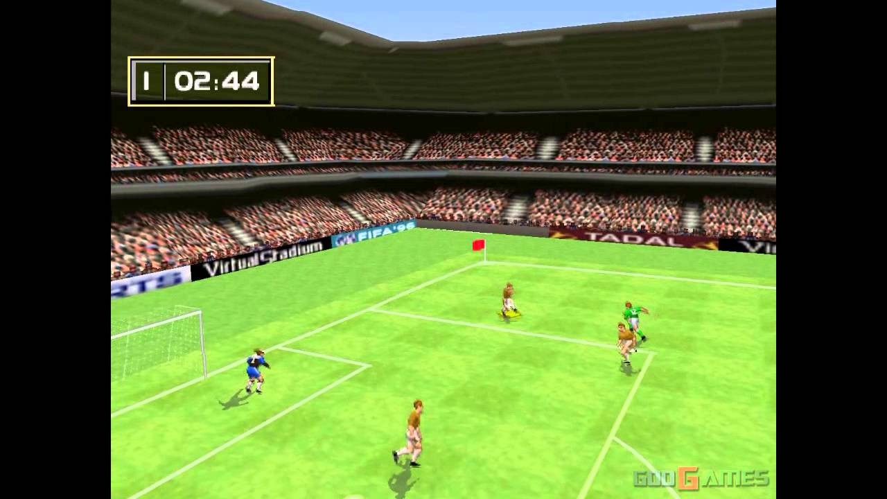 Fifa 96 - Gameplay PSX (PS One) HD 720P (Playstation ...