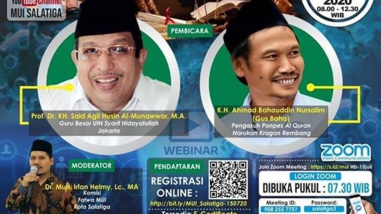 🔴 [LIVE] Webinar Nasional Bersama Prof KH Agil Husin dan Gus Baha | Bangkit TV