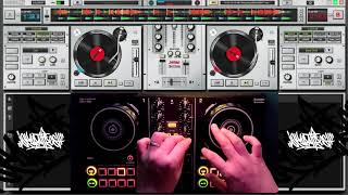 Pioneer DDJ 200 Virtual DJ Scratch Practice (prod. DOMBOI x Aydhiny)