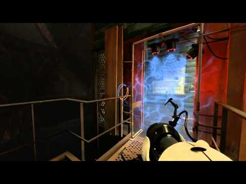 Let's Play Portal 2 Singleplayer E6 - The Fall