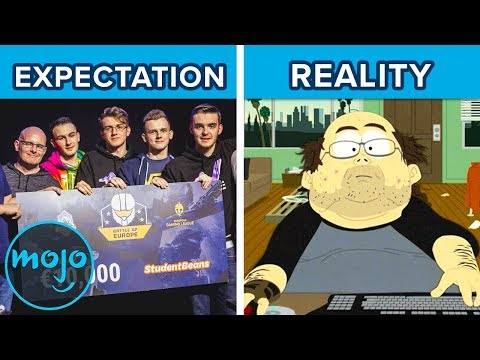 Pro Gamer: Expectations vs. Reality