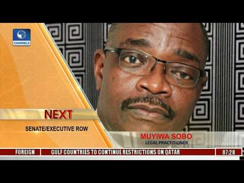 Sunrise Daily: Sobo Dissects Roles Of Executive-NASS-Judiciary Pt 1