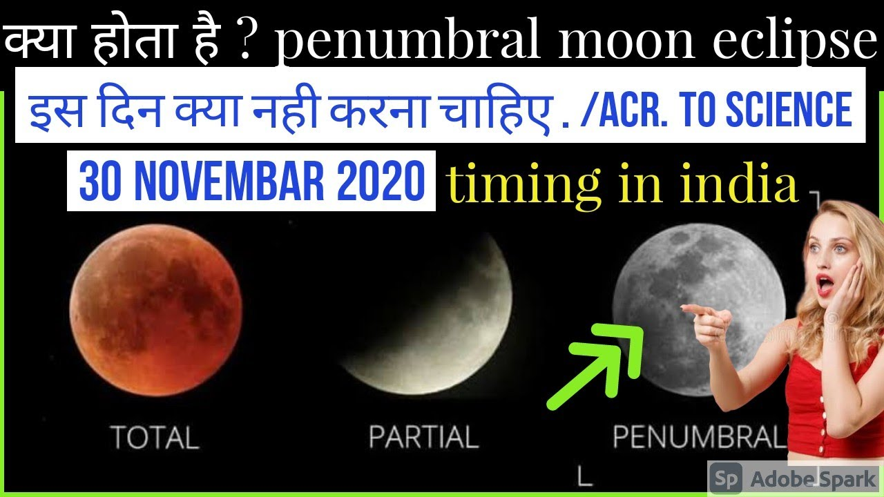 ▶️chandra grahan 30  november 2020 Time in india  | lunar eclipse 2020 in india |kartik purnima 2020