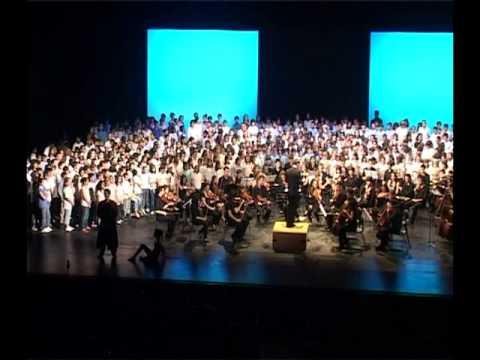 Cantata La cançó més bonica del món (3/8) - La Paeria - Ajuntament de Lleida