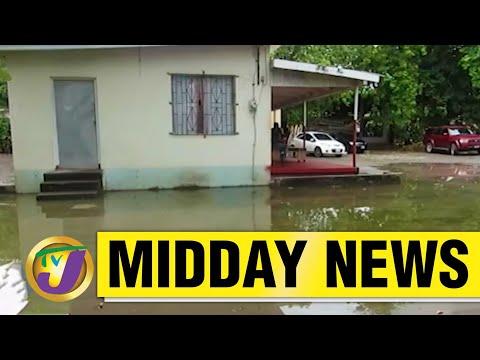 Jamaica's Health Centre Under Water But No Rain | TVJ Midday News - June 4 2021