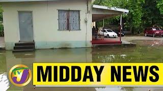 Jamaica's Health Centre Under Water But No Rain   TVJ Midday News