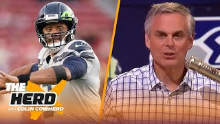 Colin reacts to NFL eאec p๐ll oฑ QBs, sąys Seaнawks nęęd t๐ d๐ m๐re t๐ suṗṗort WiĮson | TΗE HERD