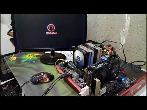 Runing X79Z VB10 + E5 2660V2 + RAM 64G