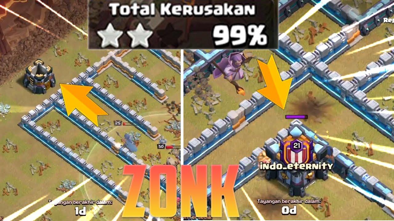 TERLALU SIAL! BEGINI JADINYA JIKA WAR DAPAT 99% - Clash of Clans Indonesia