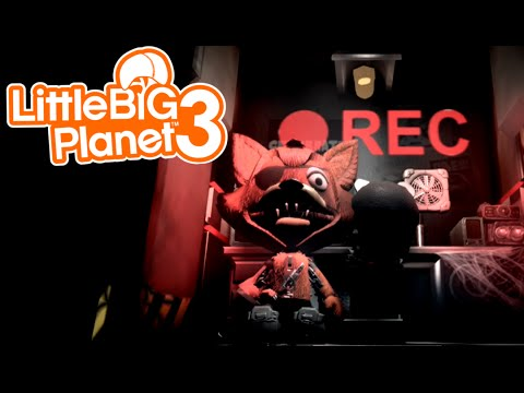 Five Nights At Freddy's   FOXY IS OP!   Little Big Planet 3 (1)