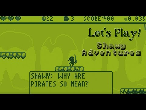 Let's Play A New Indy Game! - Shawy Adventures A Gameboy-Era Inspired Platformer