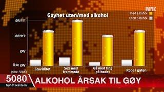 Ny forskning: Alkohol direkte årsak til mye gøy