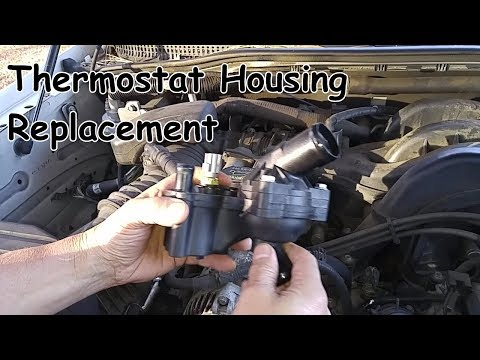 Thermostat Housing Replacement – Mercury Mountaineer 4.0L V6 / Ford Explorer V6