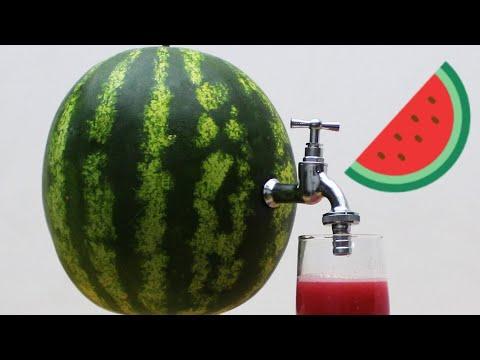 DIY Watermelon Juice 2