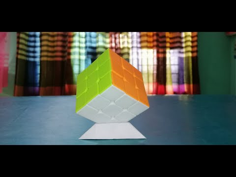 How to Make Rubik's Cube  Paper Stands