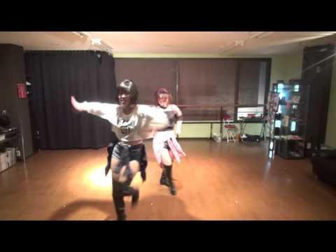 GIRLS FREE STYLE mio& yumi Studio performance dance video Ichkawa city Chiba Japan