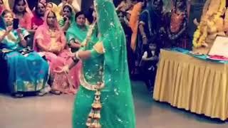 Piyaa Lade Ghadake Mujhe Jhanjariya 😘😘😘# Rajputi dance video