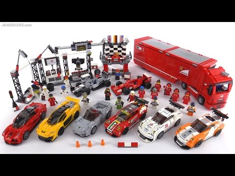 lego speed champions 2015 all sets wrap up youtube. Black Bedroom Furniture Sets. Home Design Ideas