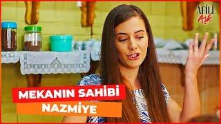 Nazmiye Kahvenin Başına Geçti - Afili Aşk 14. Bölüm