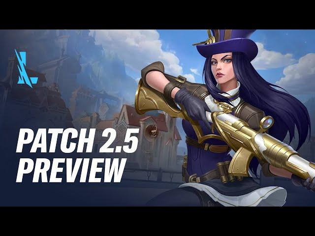 Patch 2.5 Preview - League of Legends: Wild Rift