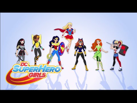 Vidéo des paroles de « Get Your Cape On » | DC Super Hero Girls